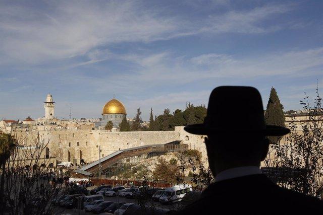 Las Explanada de las Mezquitas en Jerusalén