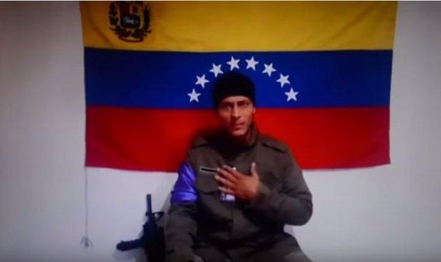 Óscar Pérez, piloto del helicóptero que atacó la sede del TSJ en Caracas
