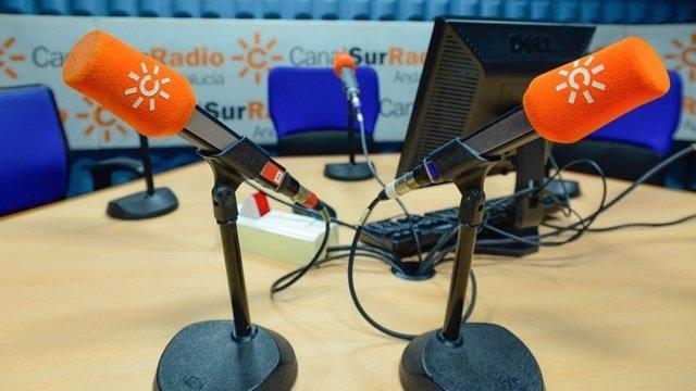 Micrófonos de Canal Sur Radio