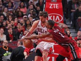Los Heat despiden a Bosh y planean retirar su número '1'