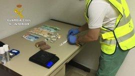 Un total de nueve detenidos en Barbastro, Huesca y Barcelona por tráfico de drogas y blanqueo