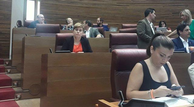 Los ex de Cs en la última fila y Mari Carmen Sánchez en primer plano
