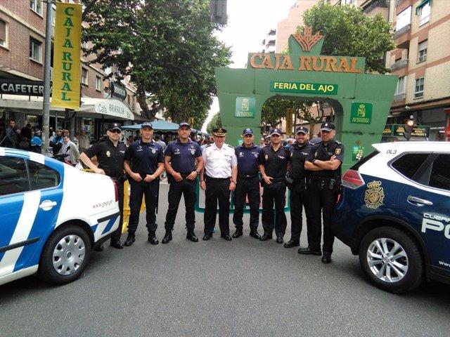 Zamora.- Foto patrulla conjunta