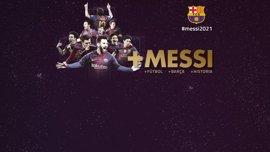 Messi renueva con el FC Barcelona hasta 2021