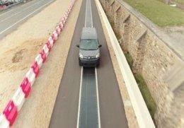 Imagen de la demostración dinámica de carga de Renault