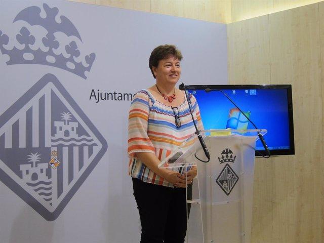 La portavoz del equipo de gobierno municipal, Susanna Moll