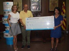 'la Caixa' destina 2.000 euros a ayudas para material escolar y alimentos en Alagón