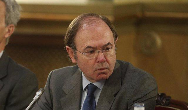 Pío García Escudero en el acto de homenaje a Claro Fernández-Carnicero