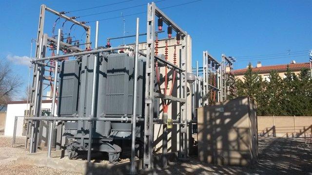 Transformador instalado por Endesa en la subestación de Valls