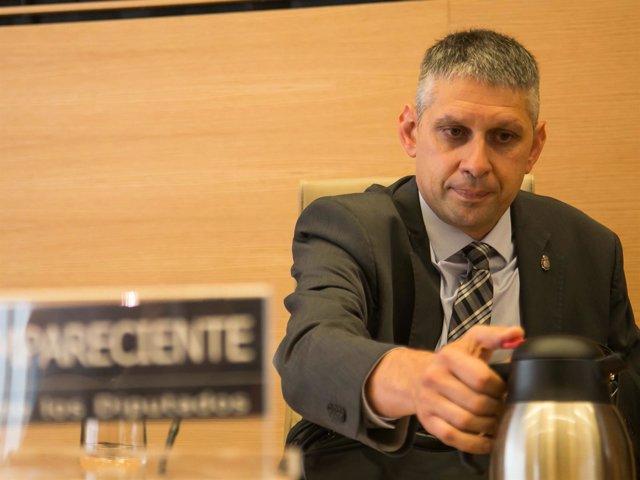 José Ángel Fuentes Gago, inspector de Policía