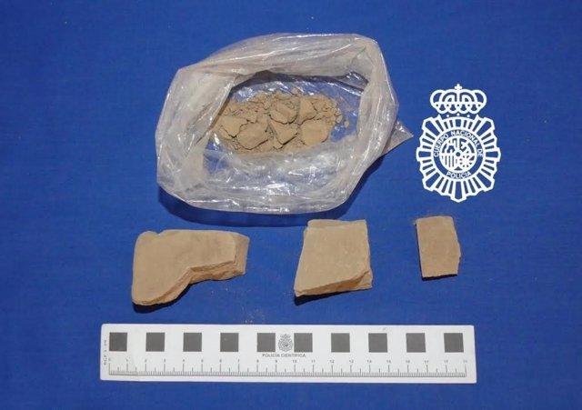 Salamanca: droga inacutada