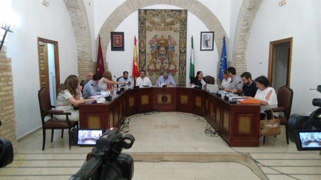 Pleno del Ayuntamiento de La Rambla