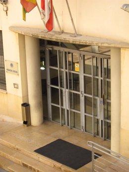 Fachada de la sede de la Policía Local de Logroño