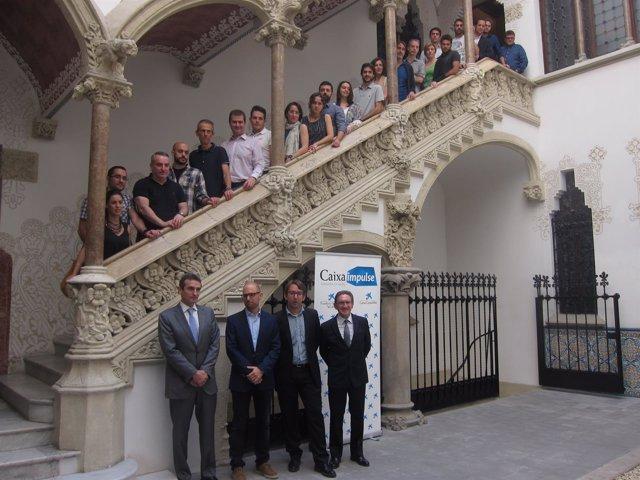 Proyectos seleccionados por CaixaImpulse, con J.Giró y M.Armenter