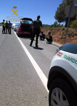 Guardia Civil detiene a los atracadores de un estanco en Barranda