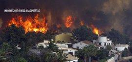 """WWF alerta de que el """"descontrol urbanístico"""" está provocando la aparición de 'super incendios'"""