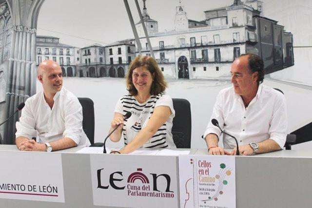 León: presentación de los conciertos