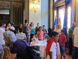 260 niños saharauis llegan este jueves a Asturias para participar en el programa 'Vacaciones en paz'