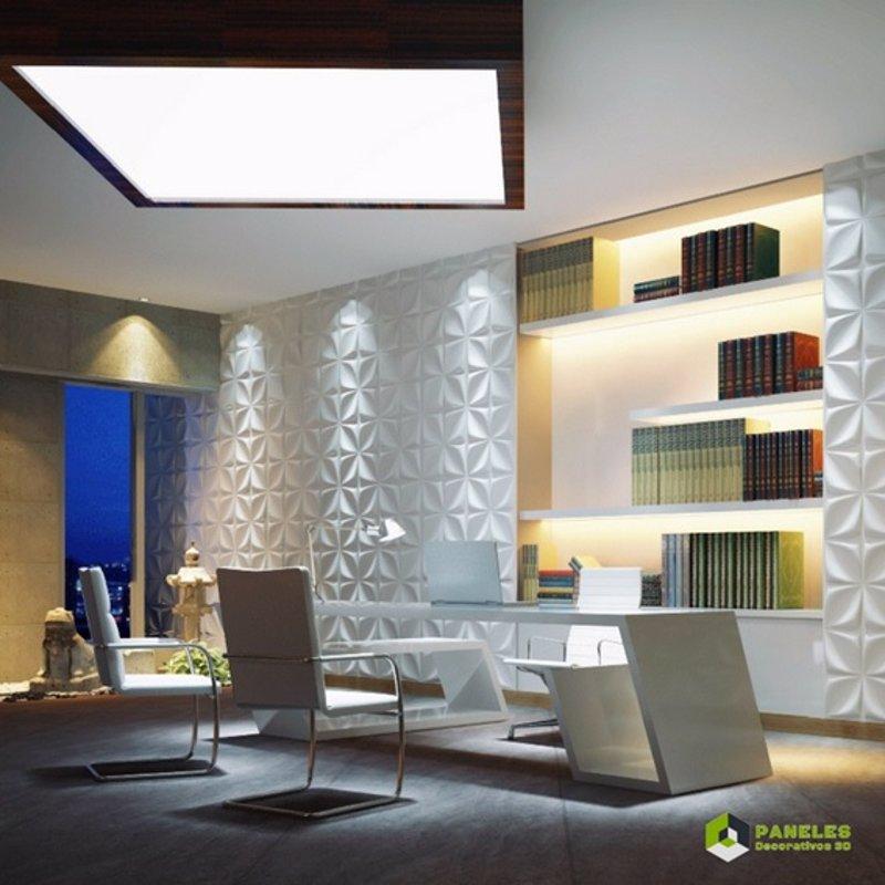 Paneles decorativos nacidos para darle vida a tus paredes - Revestimientos decorativos para paredes ...