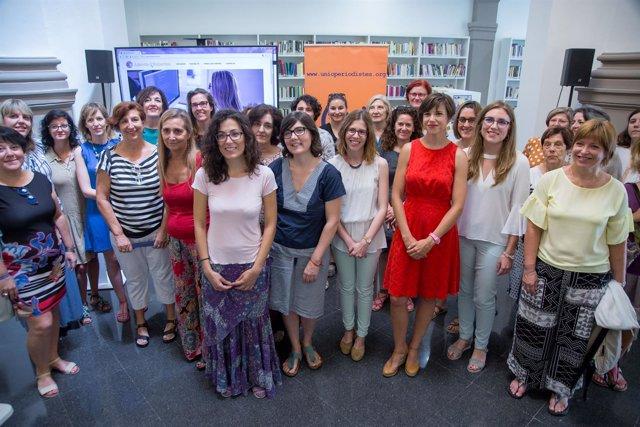 Presentación de la 'Agenda de Expertas' de Unió de Periodistes