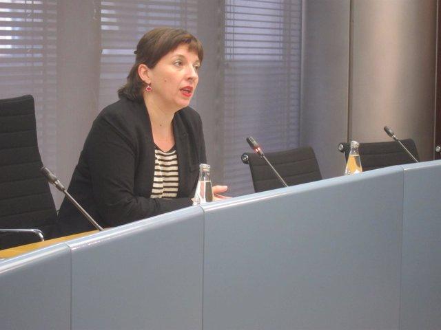 La teniente de alcalde de Barcelona Laia Ortiz