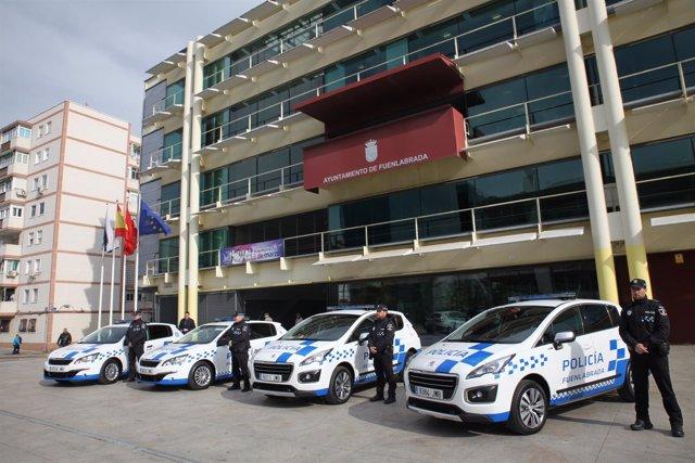 Coches de Policía Local de Fuenlabrada