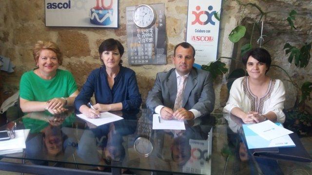 Firma Atenzia y ASCOL