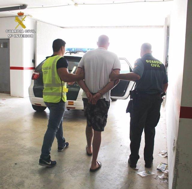 El supuesto agresor británico, detenido ayer