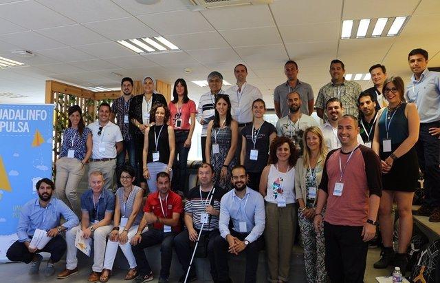 Alumnos participantes en Guadalinfo Impulsa