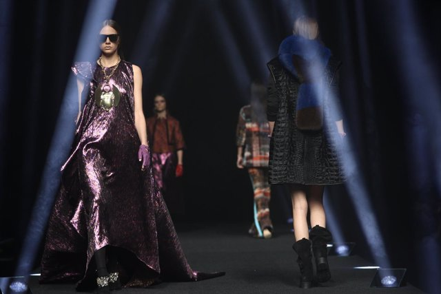 Desfile en la Mercedes-Benz Fashion Week de Madrid de Alvarno