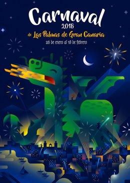 Cartel del Carnaval de Las Palmas de Gran Canaria