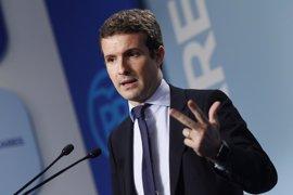 """El PP quiere que Rajoy, Sánchez y Rivera unan fuerzas para ir """"todos a una"""" contra el referéndum de independencia"""