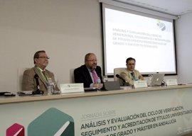 Andalucía verifica en ocho años la calidad de más de 1.100 títulos de grado y máster de universidades