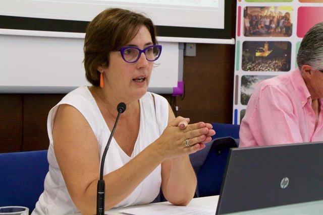 La periodista Montserrat Domínguez
