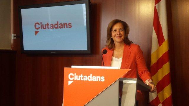 La líder de Cs en el Ayuntamiento de Barcelona, Carina Mejías