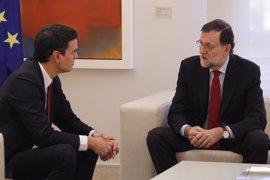Rajoy busca el apoyo de Pedro Sánchez ante el desafío independentista en Cataluña