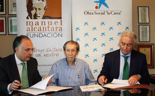 Fundación Manuel Alcántara y CaixaBank