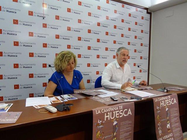 """""""La Campana De Huesca. Un Verano De Leyenda"""", Nuevo Programa Turístico Del Ayunt"""