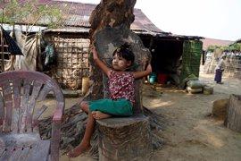 La ONU denuncia que más de 80.000 niños están en riesgo de malnutrición en el estado birmano de Rajine