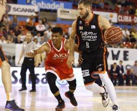 Antoine Diot renueva con el Valencia Basket hasta 2019