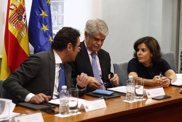 Santamaría preside la Comisión para el seguimiento del Brexit