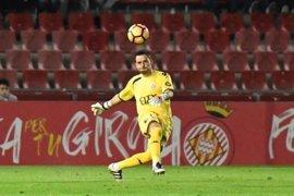 René Román abandona el Girona y firma con el Almería