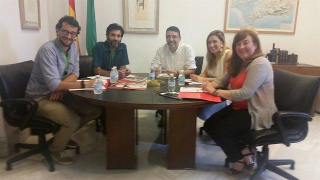 Psoe De Andalucía: Gps Nota De Prensa Y Foto Reunión Mario Jiménez Con Save The