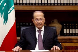 Aoun advierte de que los campamentos de refugiados en Líbano podrían convertirse en escondites para terroristas