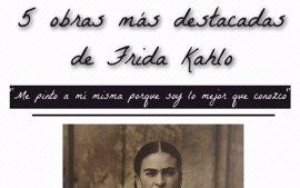 Las 5 obras más destacadas de Frida Kahlo