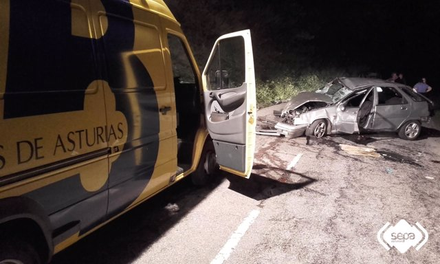 Accidente de tráfico en Campo de Caso