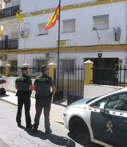 Actuación de la Guardia Civil de Huelva
