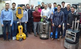 Investigadores de la UMA desarrollan un simulador 3D para probar robots olfativos que detectan escapes de gases