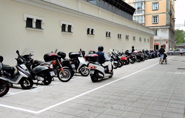 Nuevo aparcamiento de motos