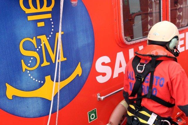 Embarcación Salvamar Gadir de Salvamento Marítimo